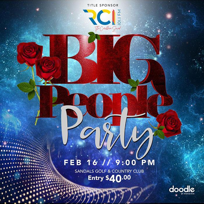 RCI's Big People Party
