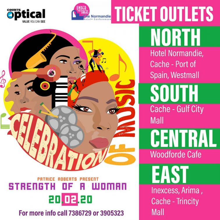 Strength Of A Woman - Celebration of Music Ticket Outlets